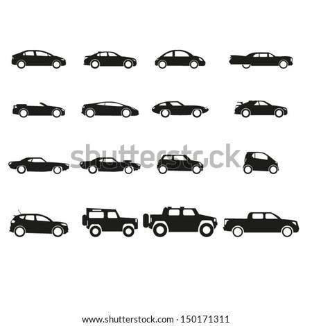 Car Icon Set Car Icons Set