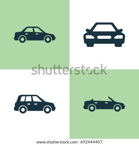 Set of transport icons - cars  Eps… Stock Photo 106026980