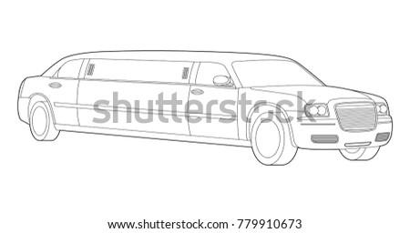 Car Illustration Car Icon Classic Car Luxury Auto Transportation