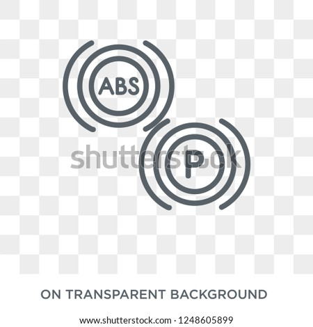 car indicator icon. car indicator design concept from Car parts collection. Simple element vector illustration on transparent background.