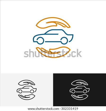 car insurance logo with care