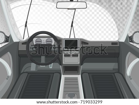 car interior inside view of