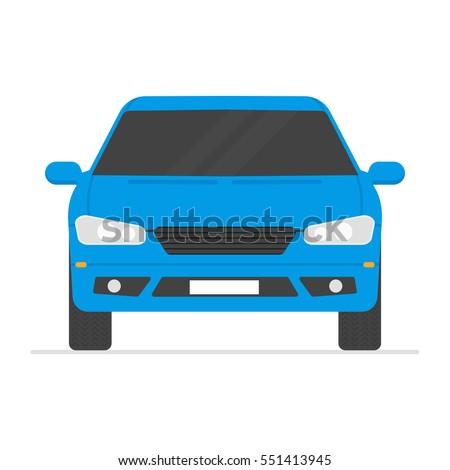 car isolated vector