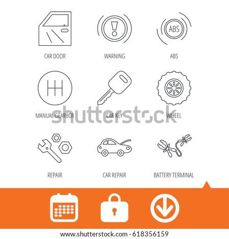 car key  repair tools and