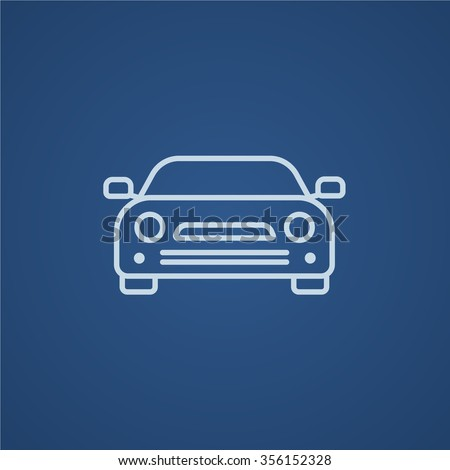 car line icon for web  mobile