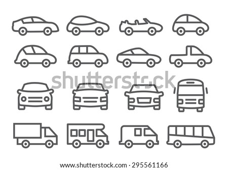 Car line icons