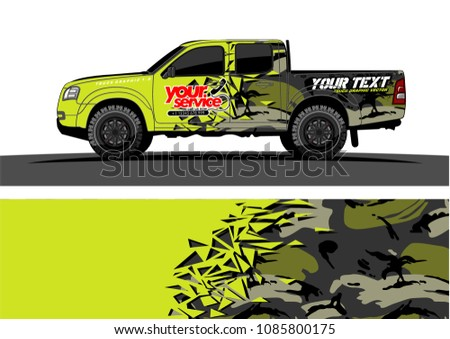 car livery vector abstract