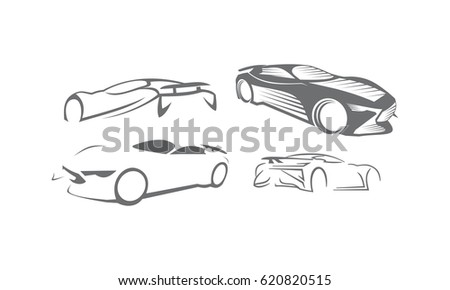 Car Logo Set Bundle Collections