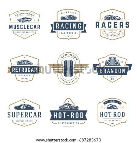car logos templates vector...