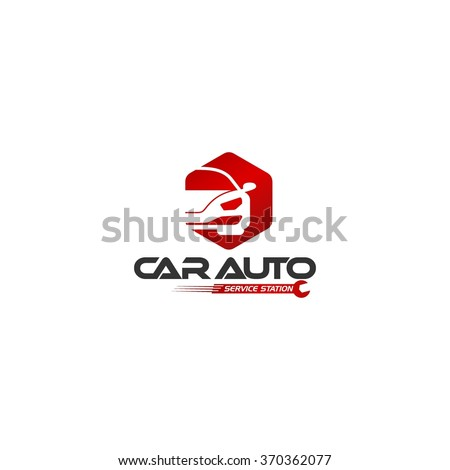 car maintenance logo template