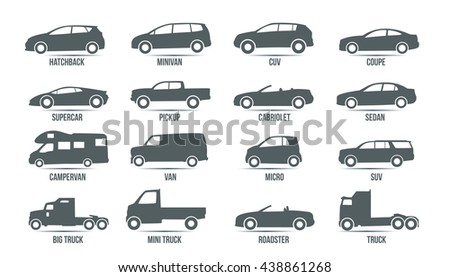 car model and type objects