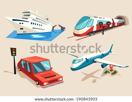 car or auto  yacht or ship