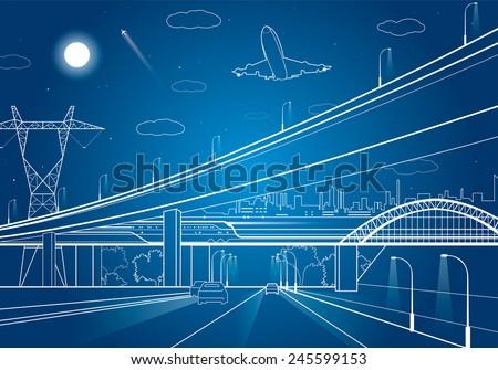 car overpass  infrastructure