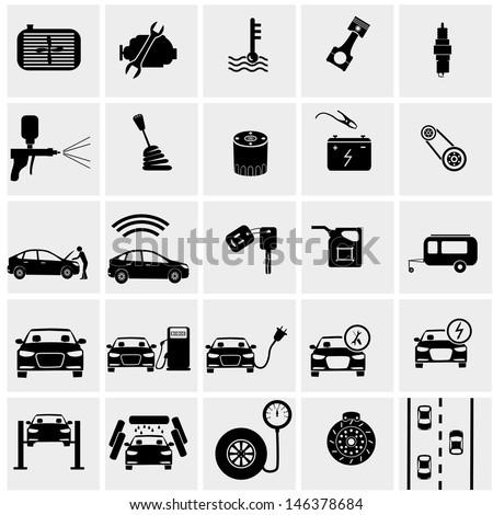 Vehicle Maintenance Icon Car Service Maintenance Icon