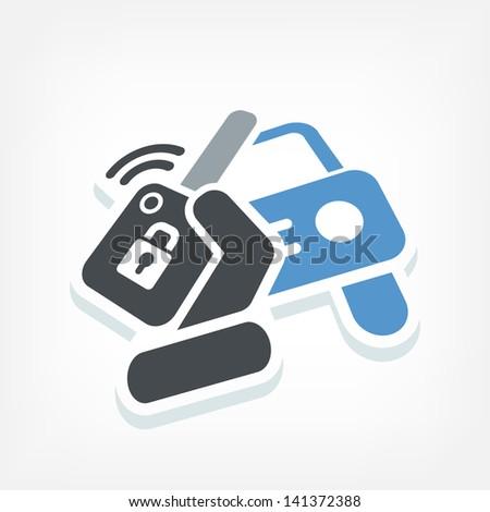Car remote control key