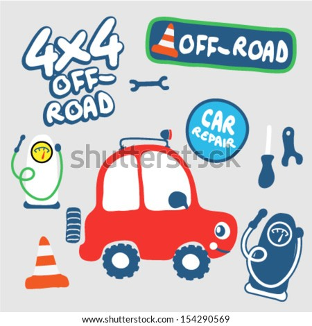 car repair and off road