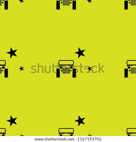 car seamless pattern background  template - Shutterstock ID 1167193702