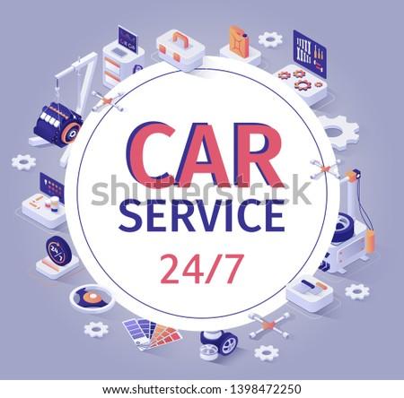car service banner offer 24 7