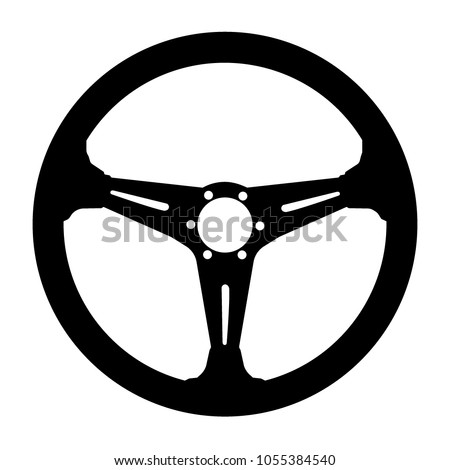 car steering wheel symbol