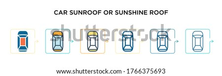 car sunroof or sunshine roof