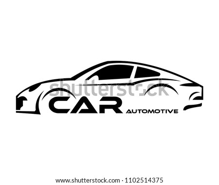 stock-vector-car-symbol-logo-template-stylized-vector-silhouette