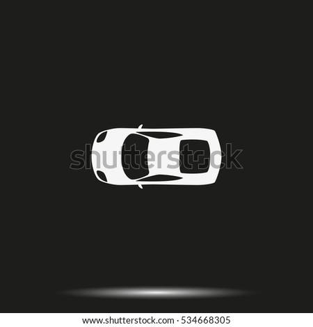 car top view icon
