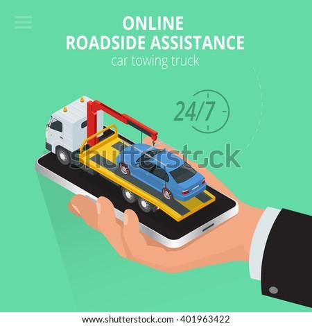car towing truck online app