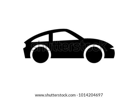 car vector icon isolated