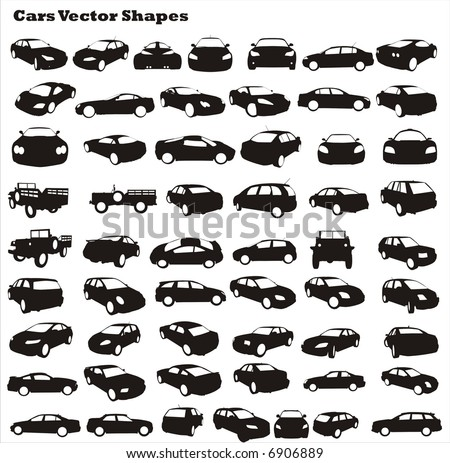 car vector shapes