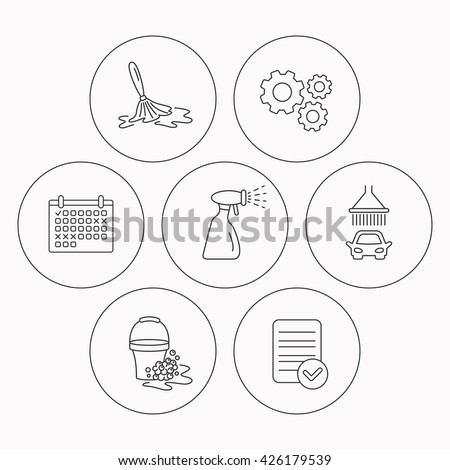 Royalty Free Stock Photos And Images Car Wash Icons Automatic