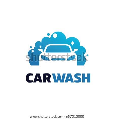 Car Wash Logo Template Designs