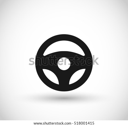 car wheel vector icon