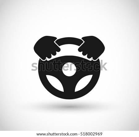 Car wheel vector icon