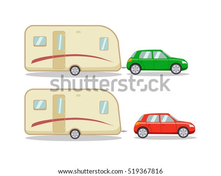 car with the house on wheels