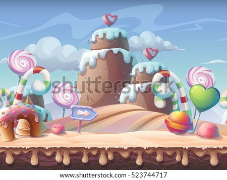 caramel background vector