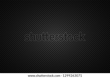 Carbon fiber texture with redial gradient. Vector illustration