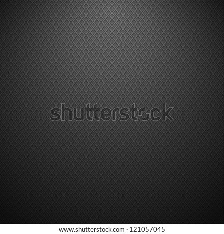 Carbon metallic texture. Vector background eps10