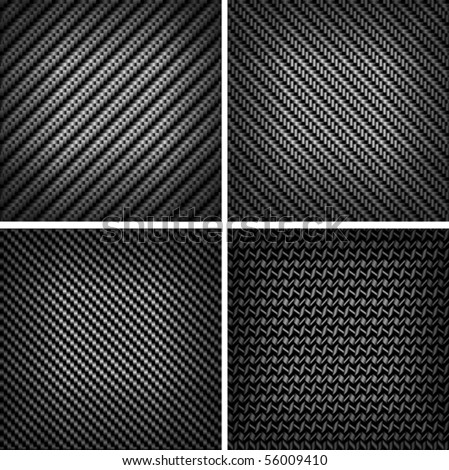 Carbon or fiber background. Jpeg version also available in gallery - stock vector