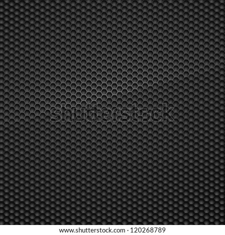 Carbon Pattern. Vector Illustration.