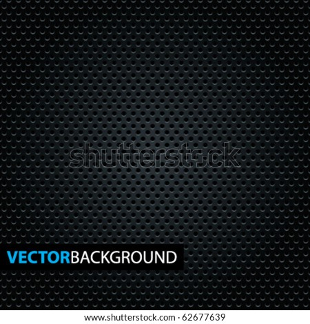 Carbon Pattern. Vector Illustration. - stock vector