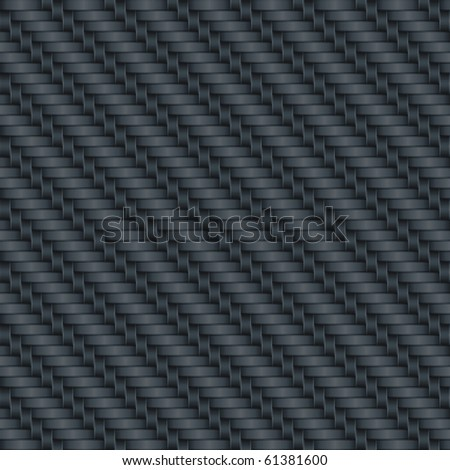Carbon wicker background (editable seamless pattern)