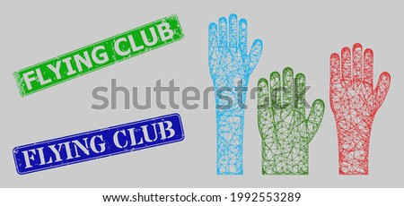 carcass net mesh voting hands