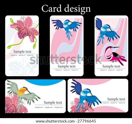 Card design - Shutterstock ID 27796645