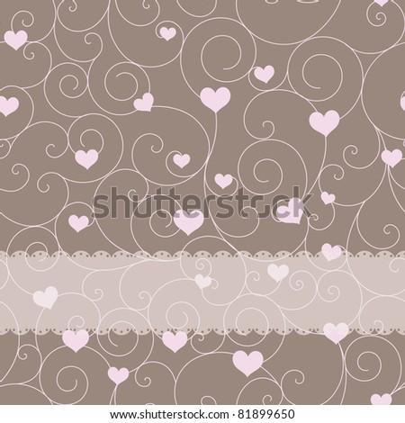 card design for wedding or valentine's day