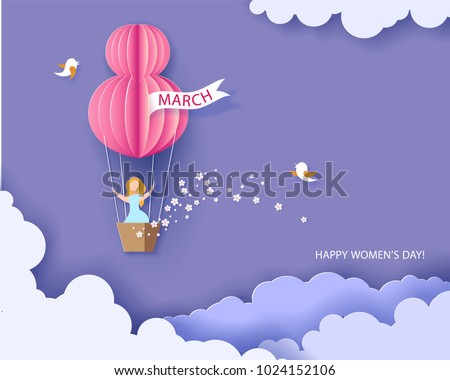 stock-vector-card-for-march-womens-day-woman-in-basket-of-hot-air-balloon-abstract-background-with-text-and