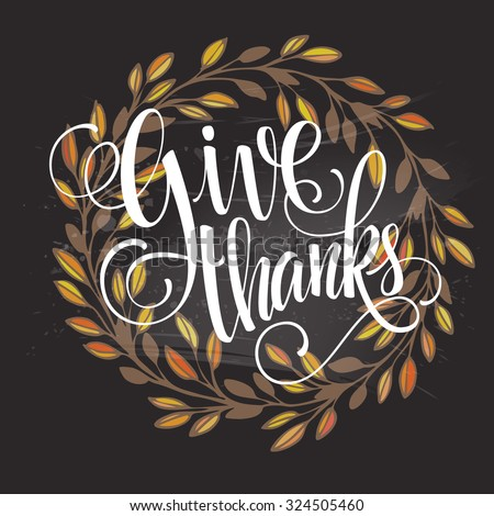 card for thanksgiving day on