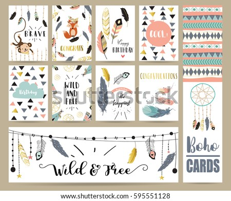 card template collection for