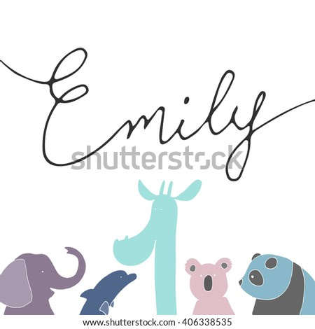 card with name emily and funny