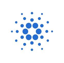 Cardano (ADA) logo icon. Cryptocurrency / Altcoin.
