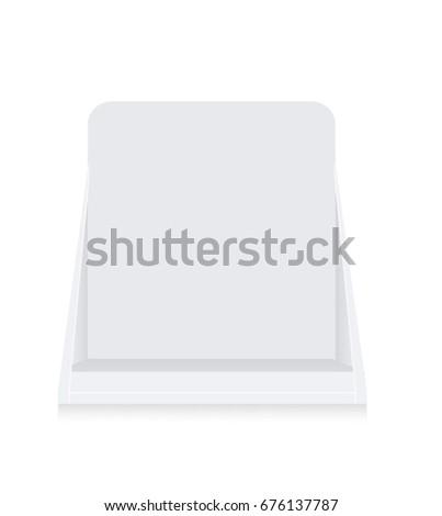 Cardboard Brochure Holder #676137787
